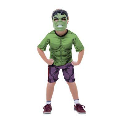 Fantasia-Classica-Curta-com-Peitoral---Hulk---Avengers---Marvel---Rubies---M