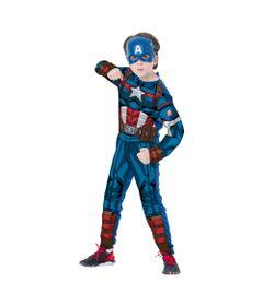 Fantasia-Classica-Longa---Capitao-America---Avengers---Marvel---Rubies---G