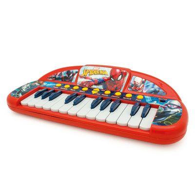 Teclado-Infantil-Musical---Spider-Man---Marvel---Toyng