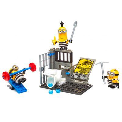 Blocos-de-Montar---Mega-Construx---Meu-Malvado-Favorito-3---Minions---Fuga-da-Prisao---Mattel