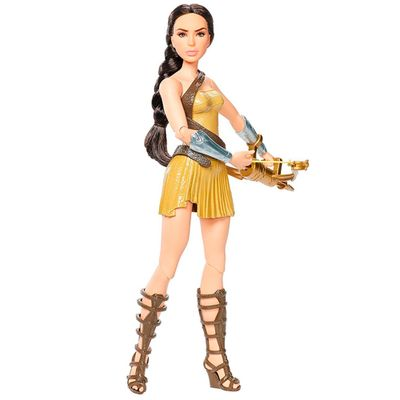 Boneca-Articulada-Deluxe---DC-Comics---Wonder-Woman---Princesa-Diana-Traje-de-Treino---Mattel