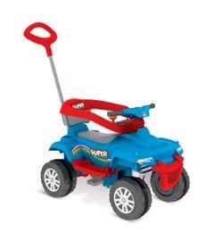 Mini-Veiculo-de-Passeio---Superquad-com-Pedal---Azul---Bandeirante