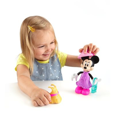 Mini-Figura---Disney---Minnie-Mouse-Fashion---Safari-Style---Fisher-Price