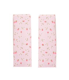 Conjunto-2-Protetores-de-Cinto-Dupla-Face---Rosa-Floral---KaBaby