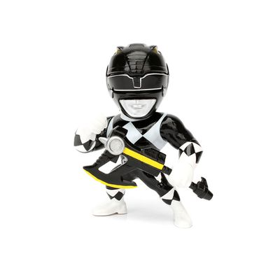 Figura-Colecionavel-10-Cm---Metals---Mighty-Morphin---Power-Rangers---Black-Ranger---DTC
