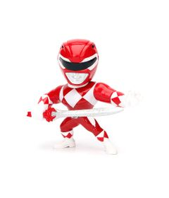 Figura-Colecionavel-10-Cm---Metals---Mighty-Morphin---Power-Rangers---Red-Ranger---DTC