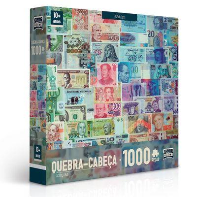 Quebra-Cabeca---1000-Pecas---Colecoes---Cedulas---Toyster