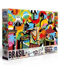 Quebra-Cabeca---2000-Pecas---Brasil-por-Lobo---Toyster
