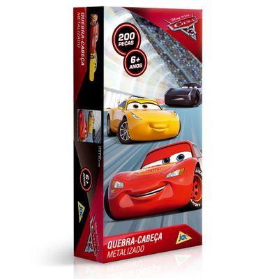Quebra-Cabeca---200-Pecas---Disney---Cars-3---Metalizado---Toyster