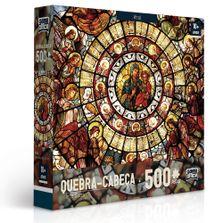 Quebra-Cabeca---500-Pecas---Arte-Sacra---Vitral---Toyster
