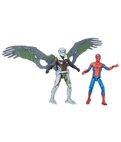 Conjunto-com-2-Figuras-de-Acao---12-cm---Marvel-Legends-Series---Spider-Man-e-Marvel-s-Vulture---Hasbro