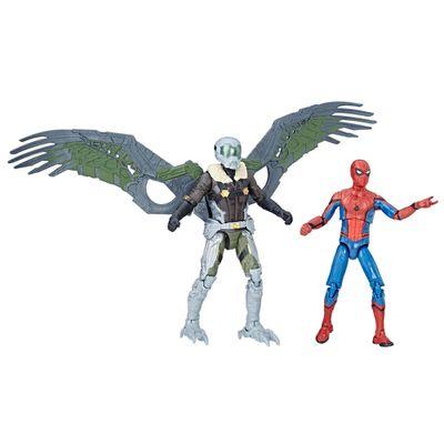 Conjunto-com-2-Figuras-de-Acao---12-cm---Marvel-Legends-Series---Spider-Man-e-Marvel-s-Vulture---Hasbro