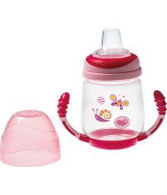 Copo-de-Aprendizado-com-Alca-Invertida---200-ml---Rosa---Girotondo-Baby