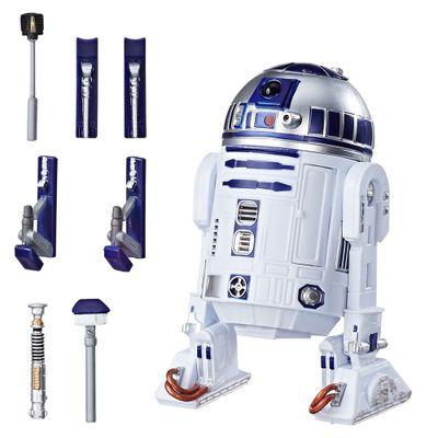 Figura-Colecionavel---15-cm---Edicao-Especial-Star-Wars-40-Anos---R2D2---Hasbro