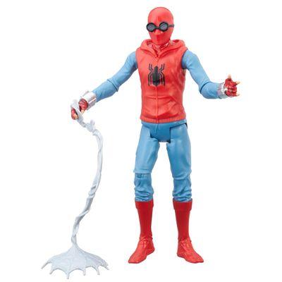 Figura-de-Acao---15-cm---Spider-Man-Homecoming---Spider-Man-Homemade-Suit---Marvel---Hasbro