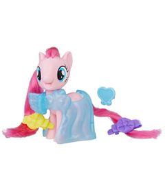 Mini-Figura-Fashion---7-cm---My-Little-Pony---Clip-and-Style-Runway---Pinkie-Pie---Hasbro