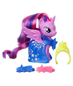 Mini-Figura-Fashion---7-cm---My-Little-Pony---Clip-and-Style-Runway---Princess-Twilight-Sparkle---Hasbro