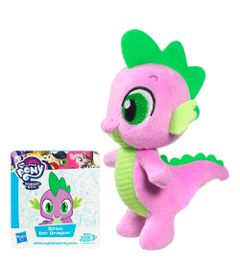 Pelucia-Pequena---12-cm---My-Little-Pony---Friendship-Is-Magic---Spike-Dragon---Hasbro