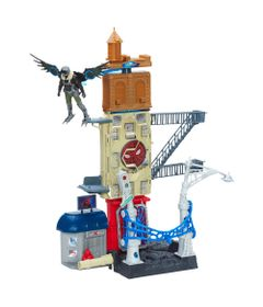 Playset---60-cm---Spider-Man-Homecoming---Vulture-Attack---Marvel---Hasbro