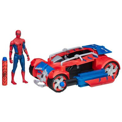 Veiculo-com-Figura---30-cm---Spider-Man-Homecoming---Spider-Racer---Marvel---Hasbro