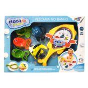 Conjunto-de-Brinquedos-para-Banho---6-pecas---Pescaria-no-Banho---Peixe-com-rede-Amarela---Girotondo-Baby