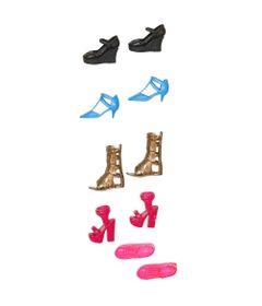 261aa5d80 Roupinhas e Acessórios para Boneca - Barbie Fashions - Conjunto de Sapatos  - Mattel