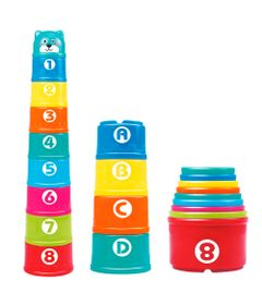 Brinquedos-de-Empilhar---Copos-Divertidos---Pura-Diversao---Yes-Toys