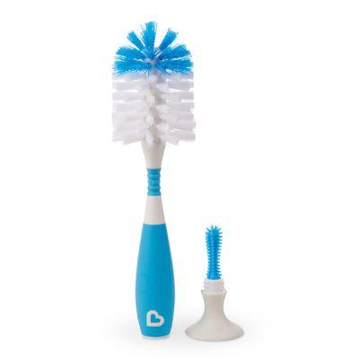 Escova-para-Mamadeiras-com-Ventosas-e-Cabo-Flexivel---Azul---Munchkin
