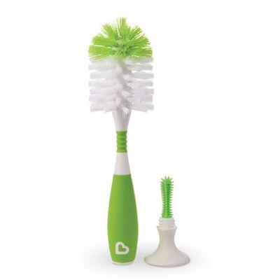 Escova-para-Mamadeiras-com-Ventosas-e-Cabo-Flexivel---Verde---Munchkin