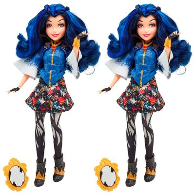 Kit-2-Bonecas-Descendants---Disney---Vilas---Evie---Hasbro