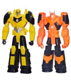 Kit-Bonecos-Transformaveis---Transformers---Robots-In-Disguise---30-Cm---Autobot-Drift-e-Bumblebee---Hasbro
