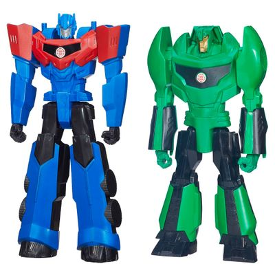 Kit-Bonecos-Transformaveis---Transformers---Robots-In-Disguise---30-Cm---Optimus-Prime-e-Grimlock---Hasbro