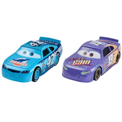 Carrinho-Die-Cast---Pack-com-2-Veiculos---Disney---Pixar---Cars-3---Bobby-Swift-e-Cal-Weathers-Jr---Mattel