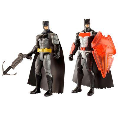 Kit-de-Figuras-Articuladas---16-Cm---DC-Comics---Batman-Vs-Superman---Batman-com-Escudo-de-Calor-e-Arpel---Mattel