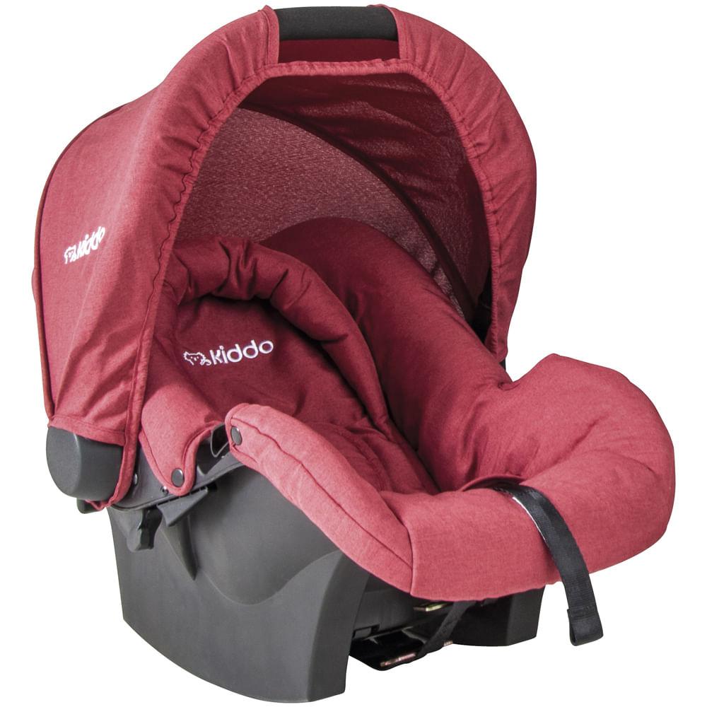 Bebê Conforto - De 0 a 13 Kg - Nest - Melange - Vermelho - Kiddo
