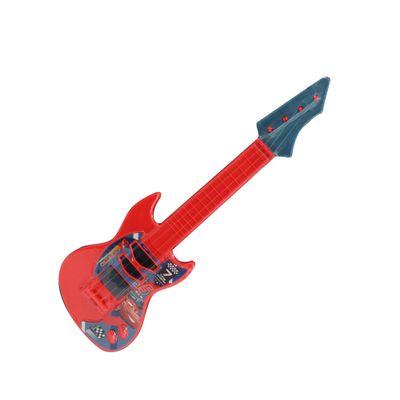 Guitarra---Disney-Carros---Vermelha-e-Cinza---Toyng