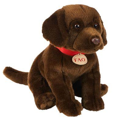 Pelucia-30-Cm---F.A.O---Labrador-Chocolate---New-Toys