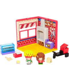 Playset-e-Mini-Figura---My-Mini-MixieQ-s---Pizzaria---Mattel