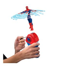 Lancador-e-Figura---Mini-Flying-Heroes---Disney---Marvel---Spider-Man---DTC
