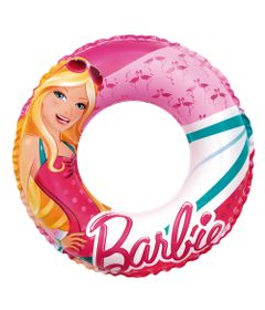 Acessorios-de-Praia-e-Piscina---Boia-Redonda-Media---60-Cm---Barbie-Glamurosa---Fun