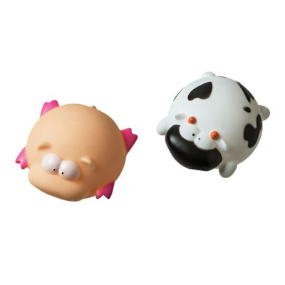 Brinquedo-para-Banho---Bichinhos---Vaquinha-e-Porco---Girotondo-Baby