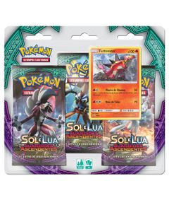 Deck-Pokemon---Triple-Deck---Pokemon-Sol-e-Lua---Guardioes-Ascendentes---Turtonator---Copag