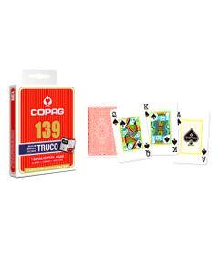 Jogo-de-Cartas---Baralho-Profissional---139-Truco---Vermelho---Copag