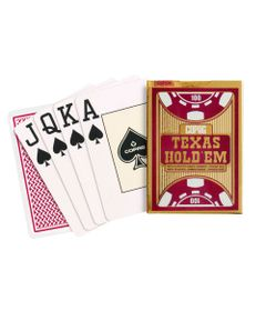 Jogo-de-Cartas---Baralho-Profissional---Texas-Hold-em---Vermelho---Copag