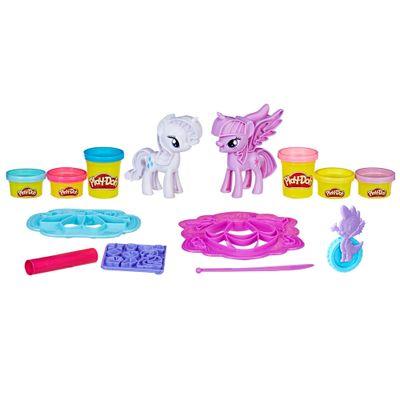 Massa-de-Modelar-e-Mini-Figuras---Play-Doh---My-Little-Pony---Diversao-Fashion---hasbro