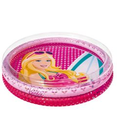 Piscina-Infantil---Redonda---Barbie-Fashion---135-Litros---Fun