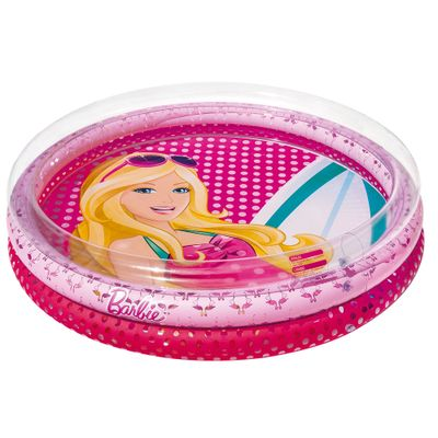 Piscina-Infantil---Redonda---Barbie-Fashion---135-Litros---Fun