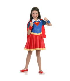 Fantasia Infantil - DC Super Hero Girls - Supergirl - Sulamericana