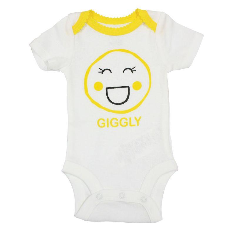 Body Manga Curta - Branco - Giggly - Koala Baby - Babies R Us - PBKIDS 90ac27d2d497f