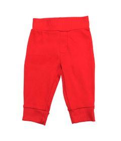 Calca-Vermelha-Lisa-com-Cos-e-Punho---Koala-Baby---Babies-R-Us